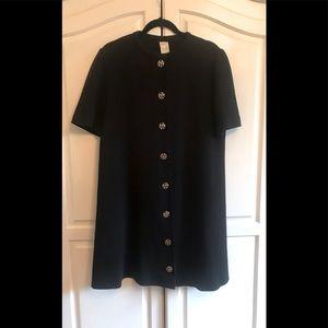 Vintage Castleberry Knit A-Line Dress